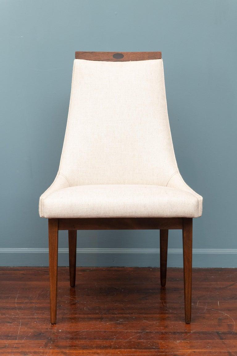 Mid-Century Modern Kipp Stewart Dining Chairs For Sale 5