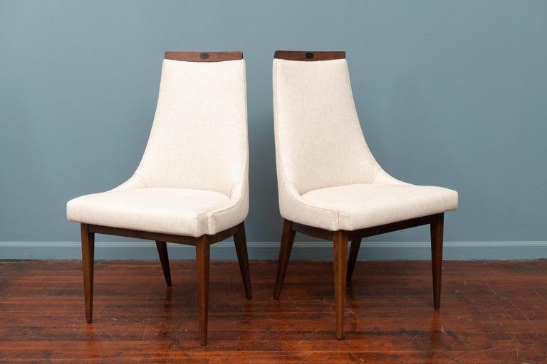 Mid-20th Century Mid-Century Modern Kipp Stewart Dining Chairs For Sale