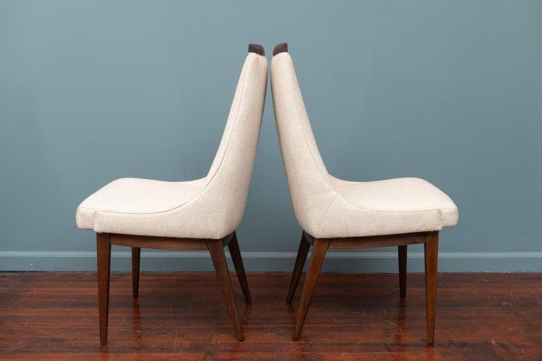 Mid-Century Modern Kipp Stewart Dining Chairs For Sale 2