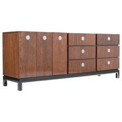 Mid-Century Modern Lacquered Walnut Dresser