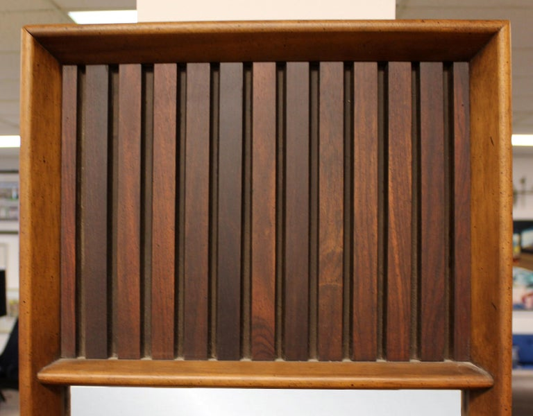 Mid Century Modern Lane 5 Pc Rosewood Bedroom Set Dresser Headboard Cabinet 70s For Sale 1
