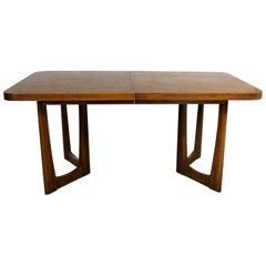 Mid-Century Modern Lane Alta Vista Oak Expanding Dining Table