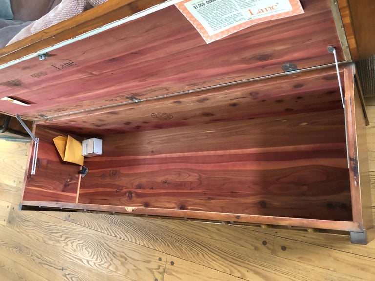 Mid-Century Modern Lane Cedar Chest 1