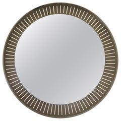 Mid-Century Modern Large Back Lit Mirror, Italy, 1950s