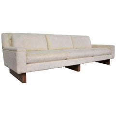 Mid-Century Modern Lawson Style White Sofa by Flair Division for Bernhardt