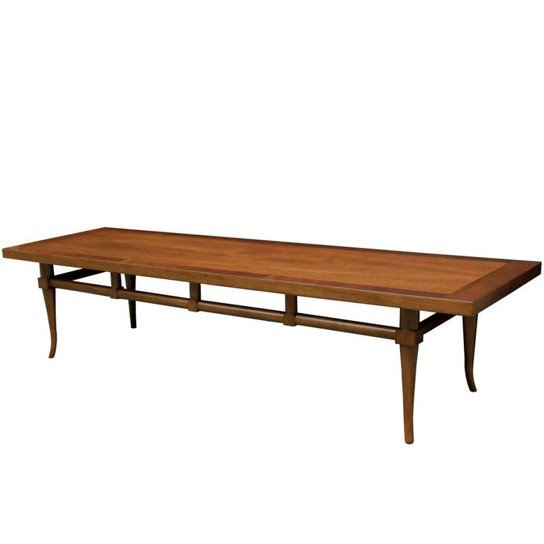 Mid-Century Modern Long Coffee Table For Sale At 1stdibs