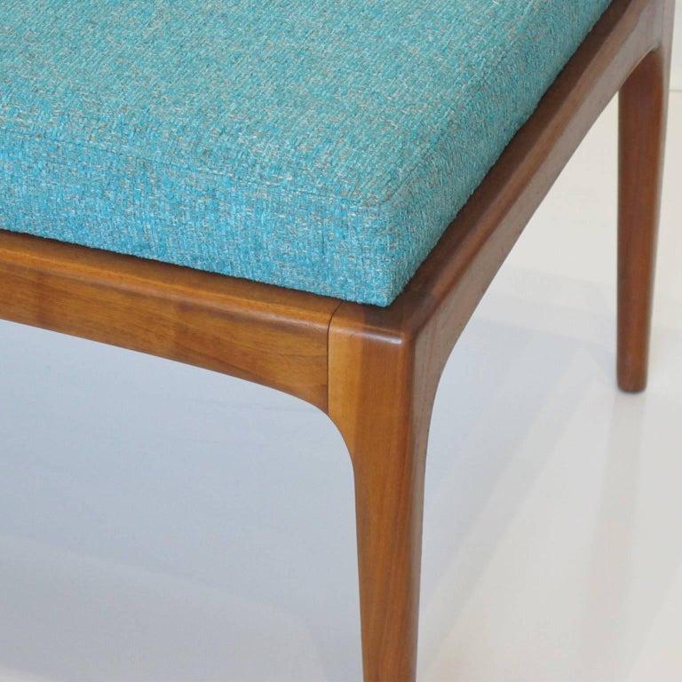 Century Furniture For Sale: Lane Furniture Mid-Century Modern Long Upholstered Walnut