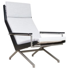 Mid-Century Modern Lotus Lounge Chair on Pyramide Foot by Rob Parry, 1960s