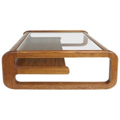 Mid-Century Modern Lou Hodges Coffee Table, California Design