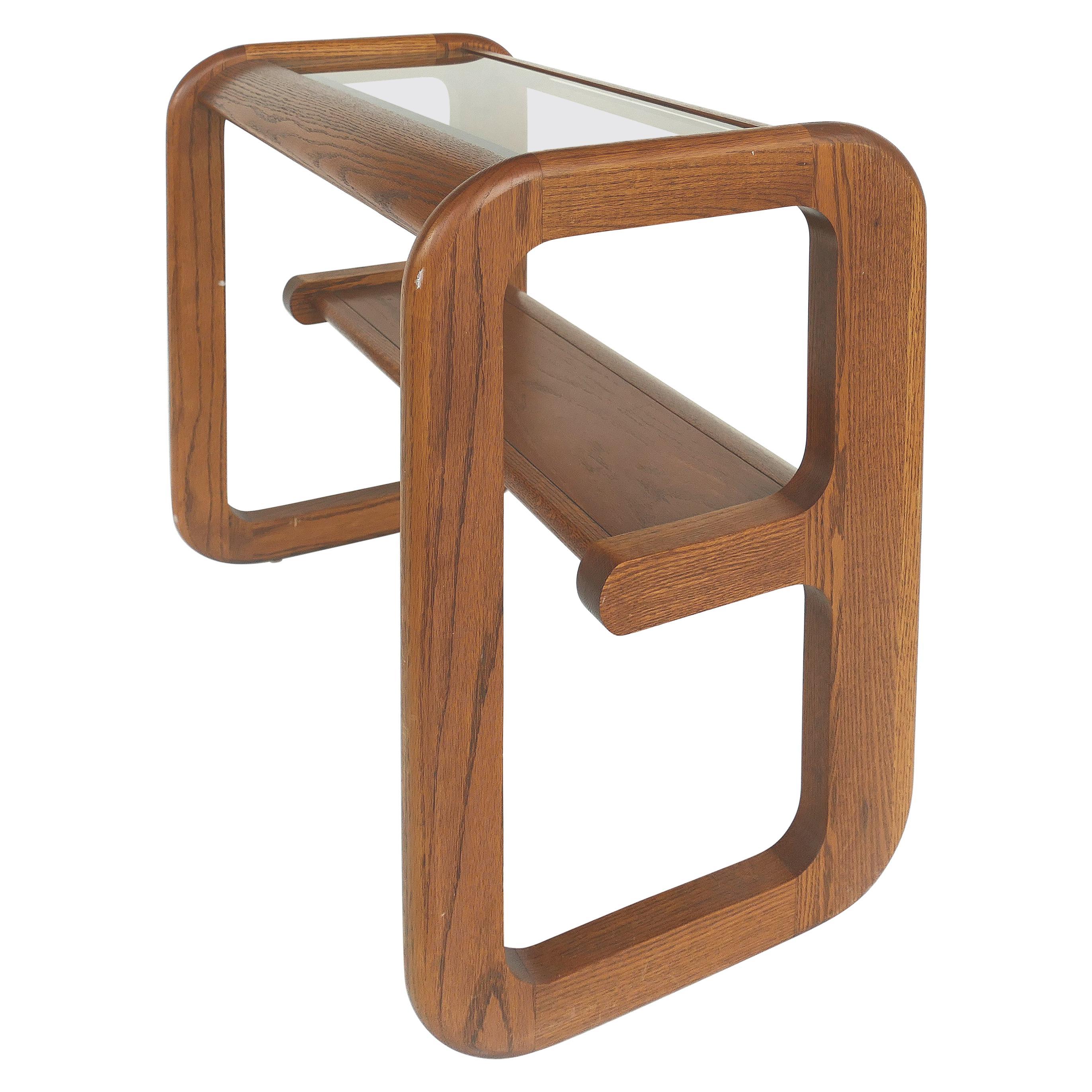 Mid-Century Modern Lou Hodges Console/Sofa Table, California Design