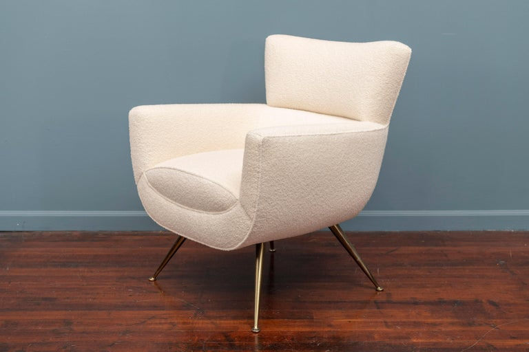 American Mid-Century Modern Lounge Chair by Henry Glass For Sale