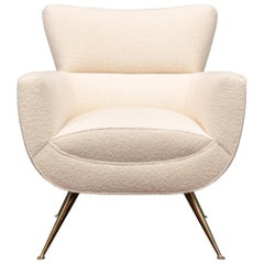Mid-Century Modern Lounge Chair by Henry Glass