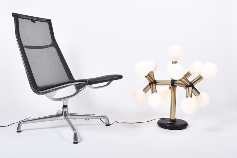 Aluminum Mid-Century Modern Lounge Chair EA 115 by Charles & Ray Eames for Vitra For Sale