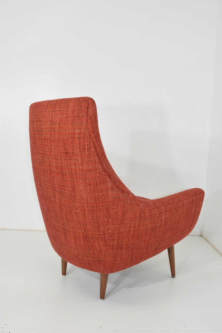 American Mid-Century Modern Lounge Chair For Sale