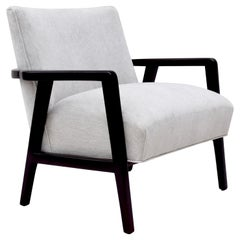Mid-Century Modern Lounge Chair in the Style of Edward Wormley for Dunbar
