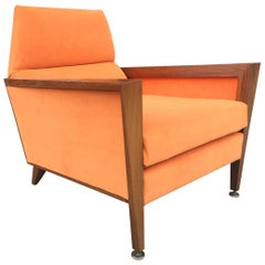 Mid-Century Modern Lounge Chair Manner of Jens Risom