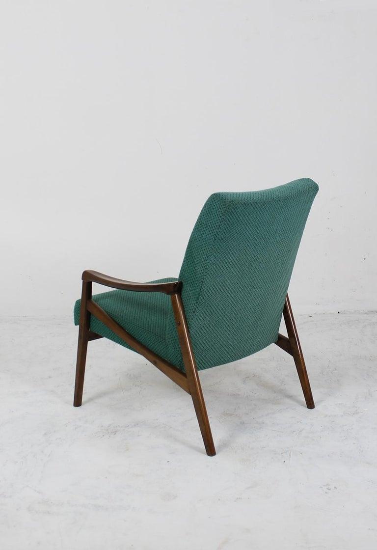 Mid-Century Modern Lounge Chair by Jiří Jiroutek for Interier Praha In Good Condition For Sale In Debrecen-Pallag, HU