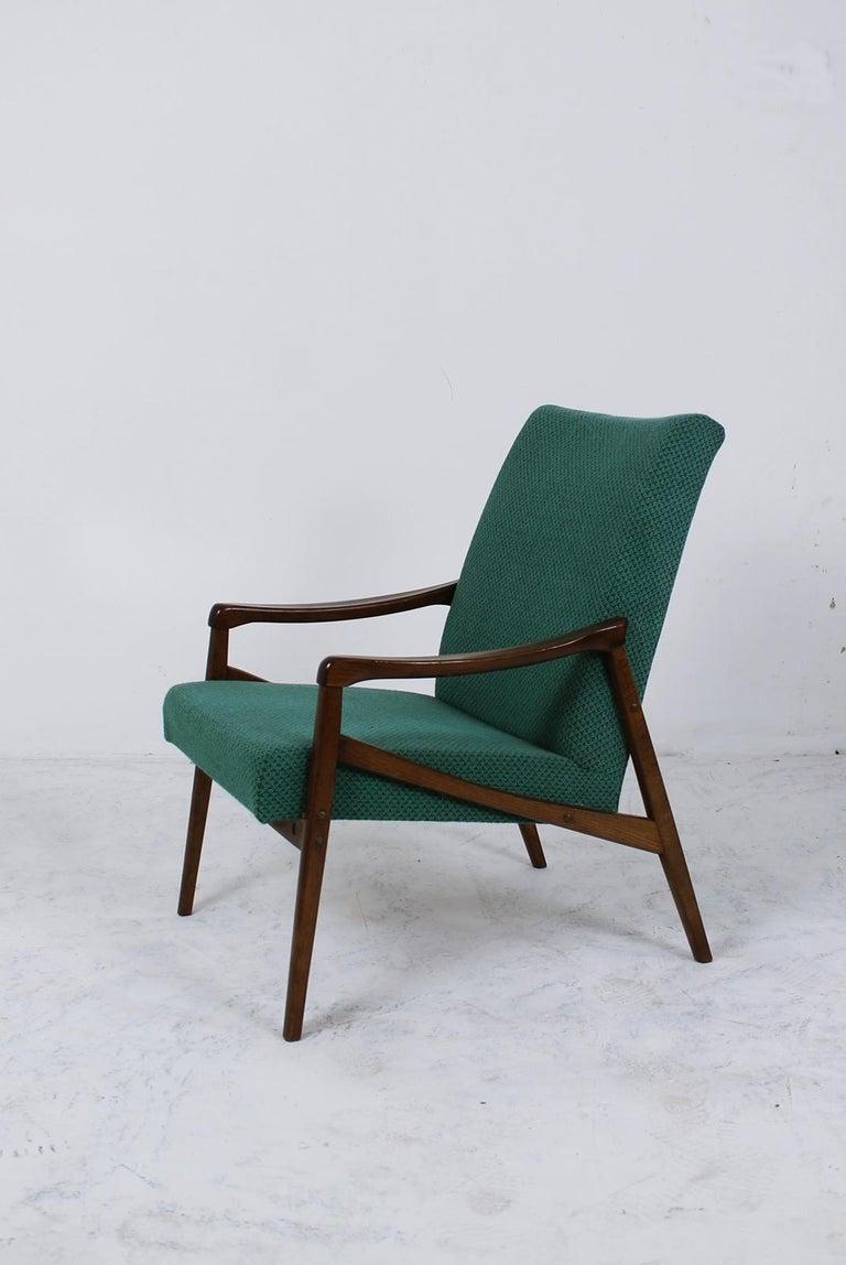 20th Century Mid-Century Modern Lounge Chair by Jiří Jiroutek for Interier Praha For Sale