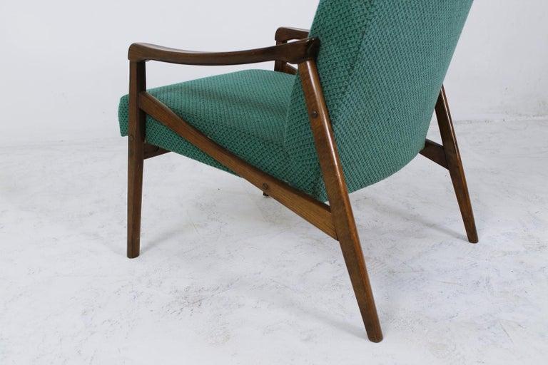 Mid-Century Modern Lounge Chair by Jiří Jiroutek for Interier Praha For Sale 1