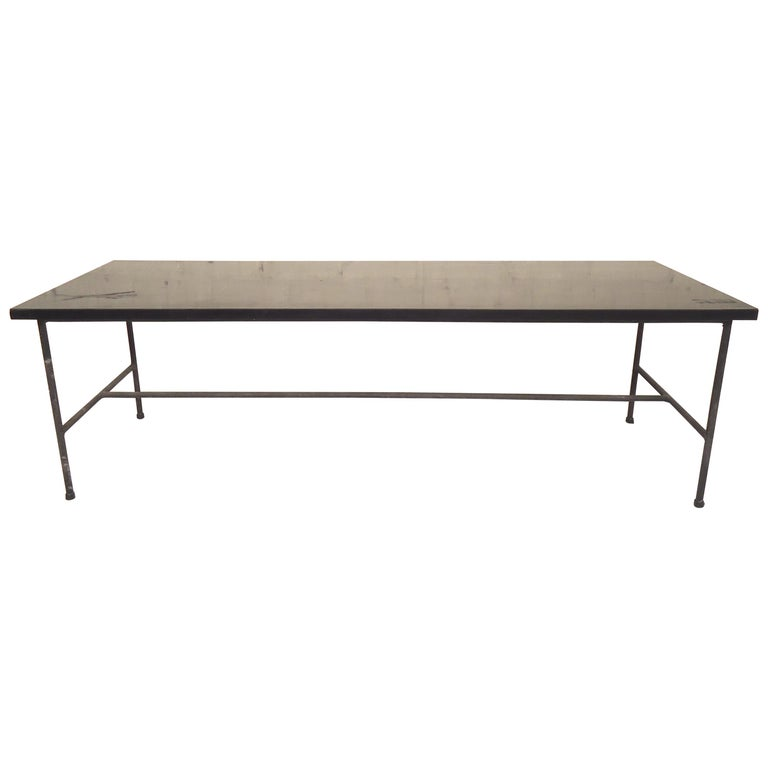 Mid-Century Modern Low Table Or Bench For Sale At 1stdibs