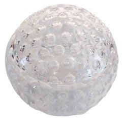 Mid-Century Modern, Lucite Golf Ball Ice Bucket by Grainware