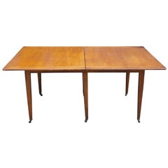 Mid-Century Modern Mahogany Dining Table by Edward Wormley for Dunbar Furniture