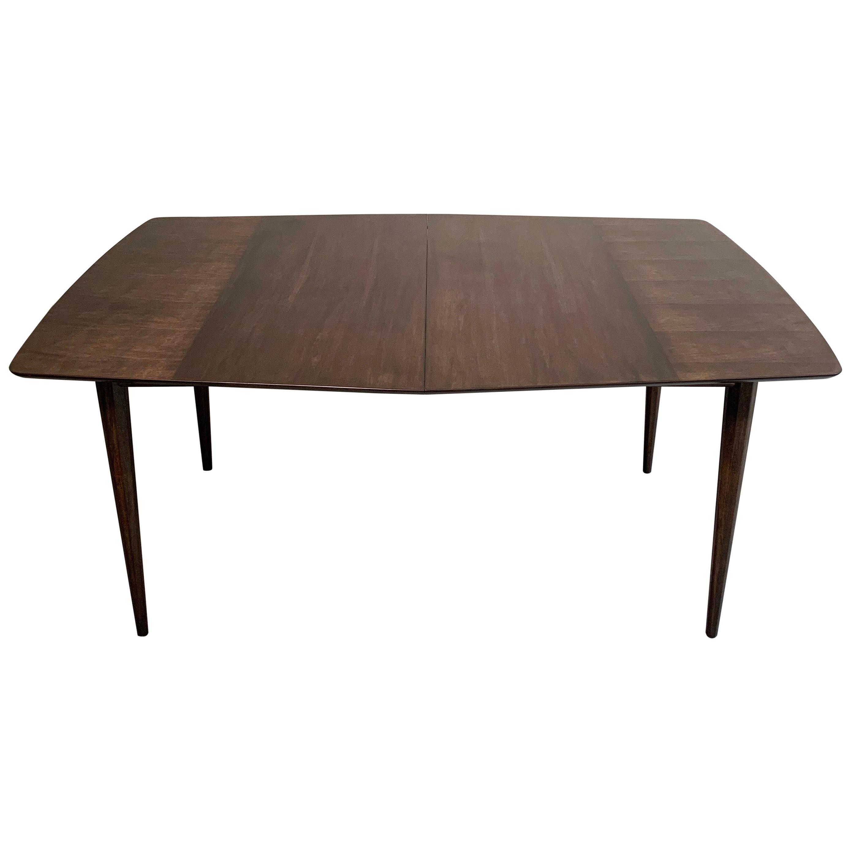 Mid-Century Modern Mahogany Extension Dining Table by John Stuart