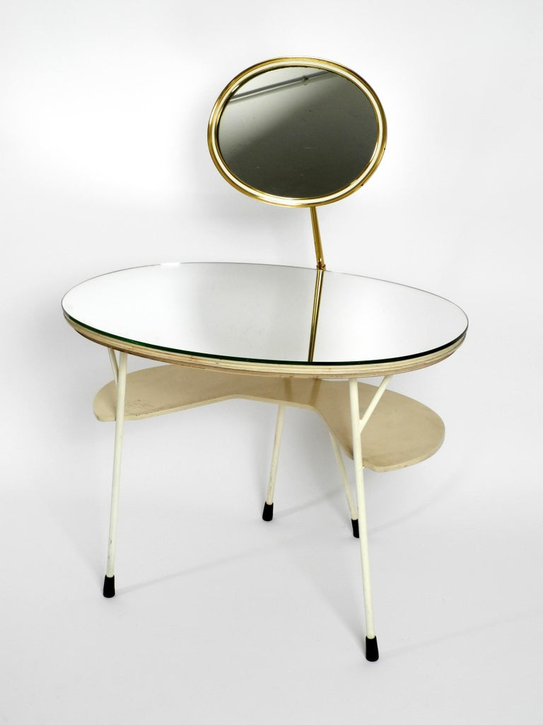Mid Century Modern Make Up Mirror Dressing Table From The