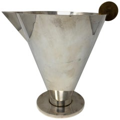 Mid-Century Modern Martini or Cocktail Pitcher, Ambrogio Pozzi Designer