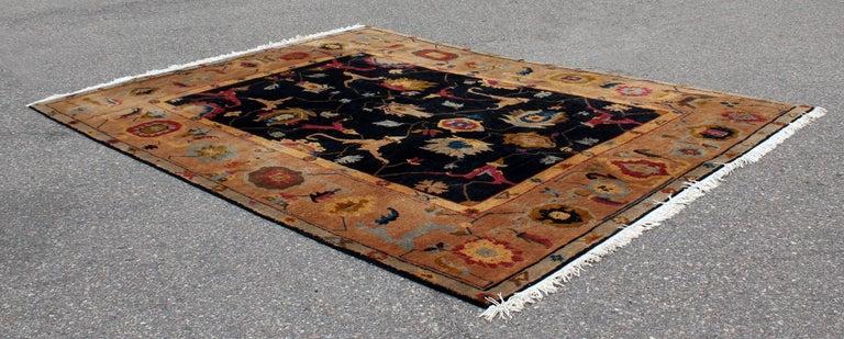 Tibetan Mid-Century Modern Massive Large Rectangular Tufenkian Knecht Area Rug Carpet For Sale
