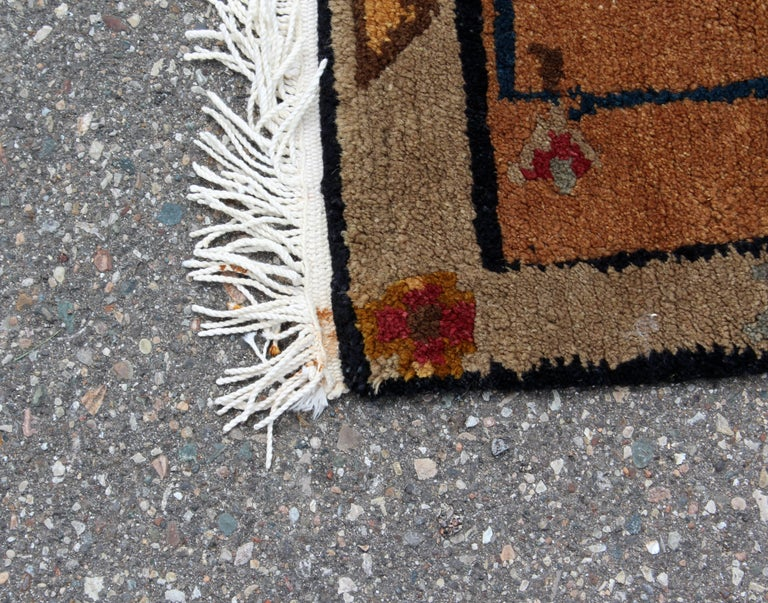Mid-Century Modern Massive Large Rectangular Tufenkian Knecht Area Rug Carpet In Good Condition For Sale In Keego Harbor, MI