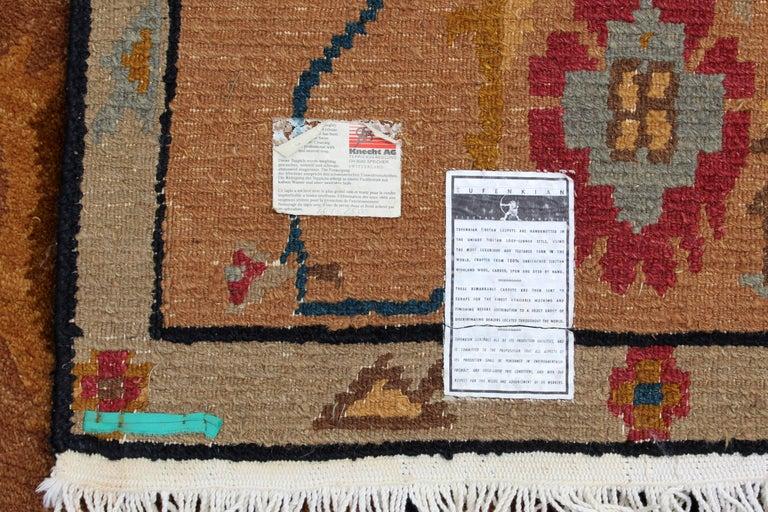 Wool Mid-Century Modern Massive Large Rectangular Tufenkian Knecht Area Rug Carpet For Sale
