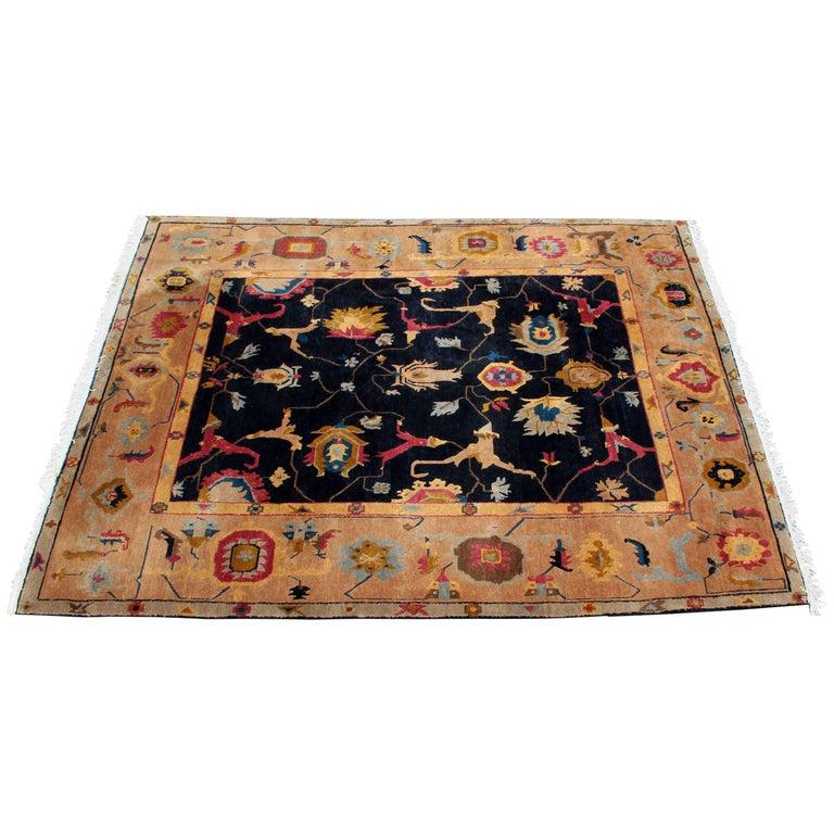 Mid-Century Modern Massive Large Rectangular Tufenkian Knecht Area Rug Carpet For Sale