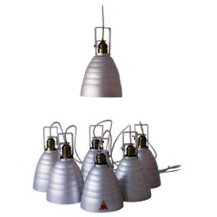Mid-Century Modern Matte Ceiling Spot Lights or Pendant Lamps, 1950s, Germany