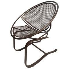 Mid-Century Modern Maurizio Tempestini Radar Saucer Rocker Lounge Chair