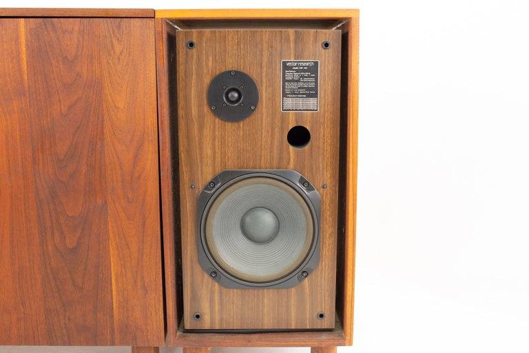 Mid-Century Modern Media Console 5