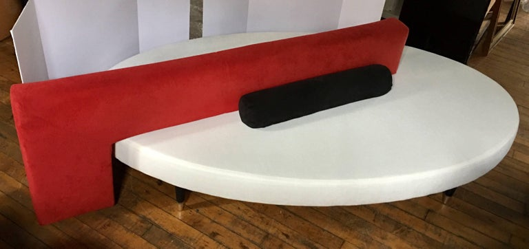 Late 20th Century Modern Memphis Inspired Sculptural Sofa by Paolo Piva for B&B Italia For Sale