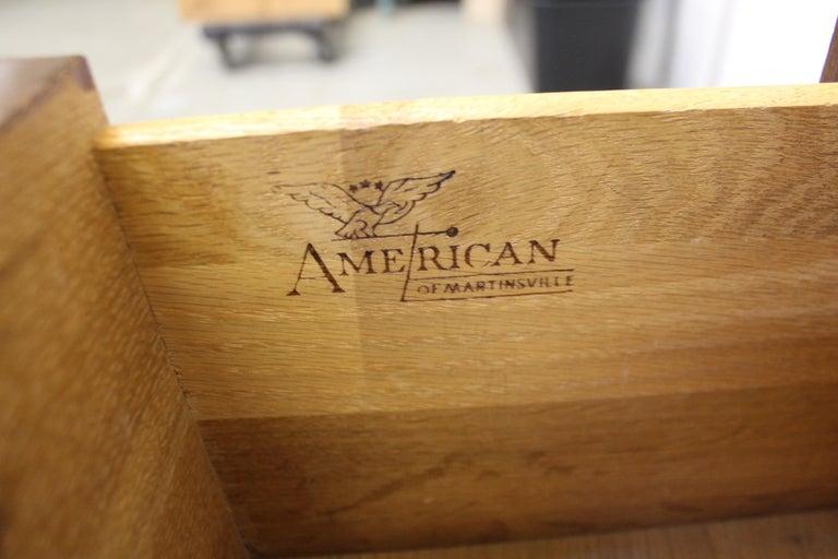 Mid-Century Modern Merton Gershun for American of Martinsville 'Dania' Credenza For Sale 7