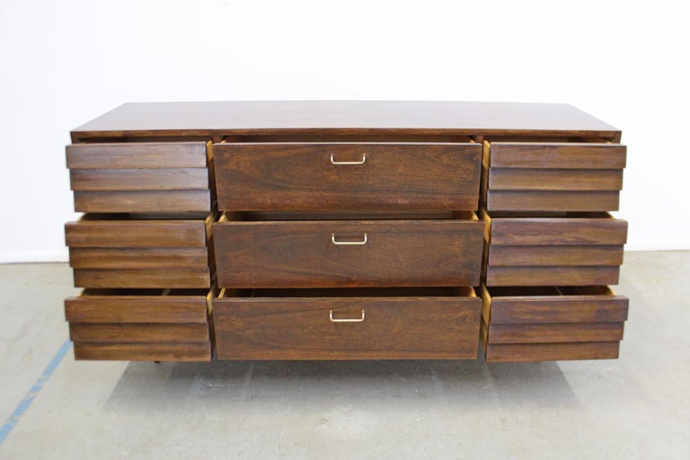 Mid-Century Modern Merton Gershun for American of Martinsville 'Dania' Credenza For Sale 2