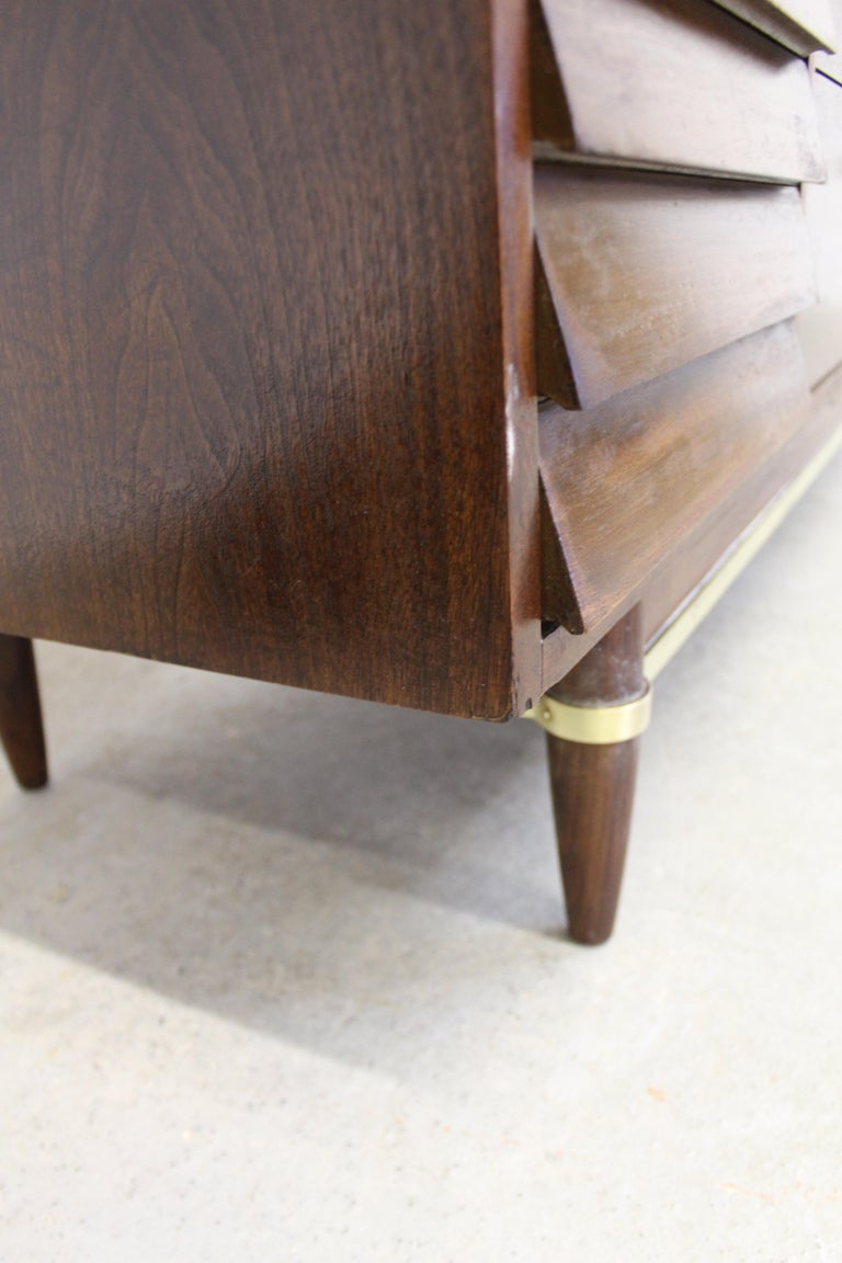 Mid-Century Modern Merton Gershun for American of Martinsville 'Dania' Credenza For Sale 4