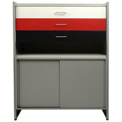 Mid-Century Modern Metal Storage System Designed by André Cordemeijer for Gispen