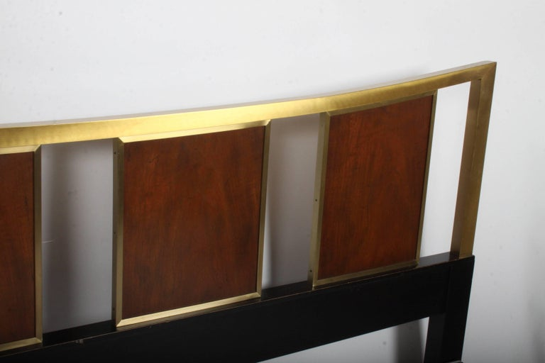 Mid-Century Modern Michael Taylor for Baker King Headboard In Good Condition For Sale In St. Louis, MO