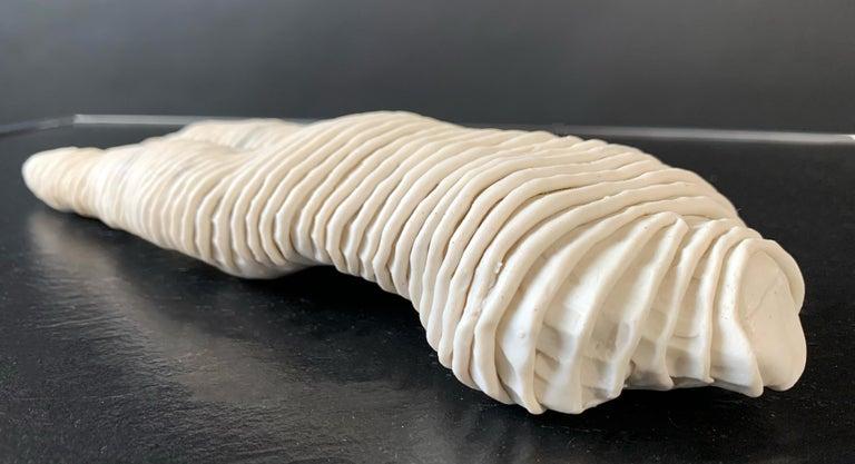 Mid-Century Modern Michele Oka Doner Ceramic Table Sculpture 1970 For Sale 6