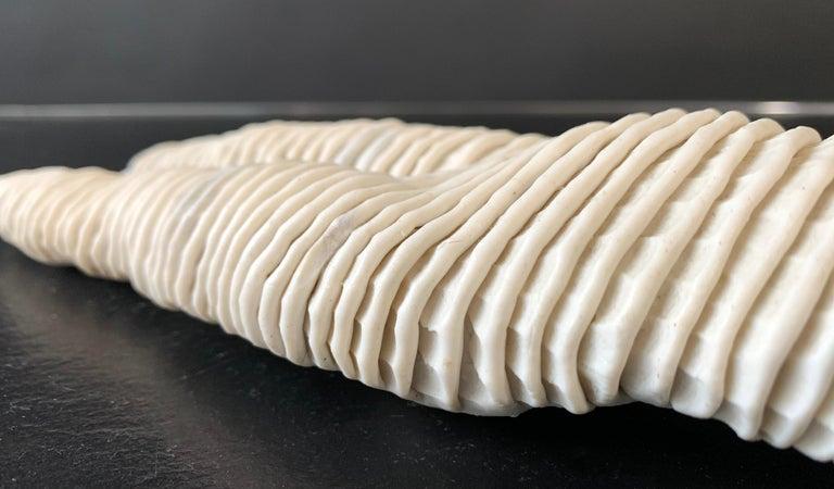 Mid-Century Modern Michele Oka Doner Ceramic Table Sculpture 1970 For Sale 7