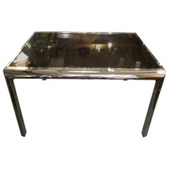 Mid-Century Modern Milo Baughman Polished Extension Table