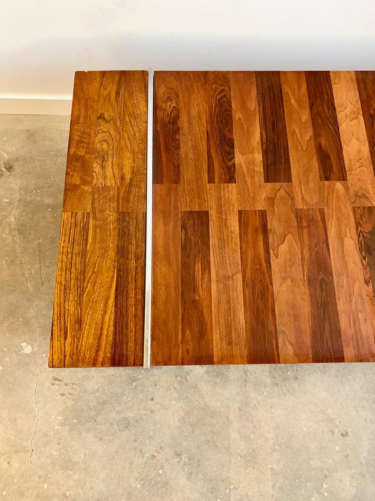 Mid-Century Modern Roland Carter Rosewood Coffee Table by Lanes Vibrato Collection