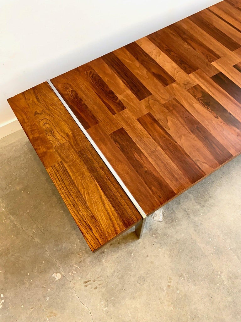 American Roland Carter Rosewood Coffee Table by Lanes Vibrato Collection