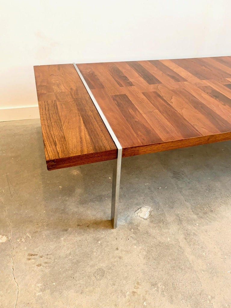 Roland Carter Rosewood Coffee Table by Lanes Vibrato Collection In Good Condition In Brooklyn, NY