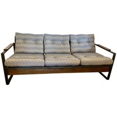 Mid-Century Modern Milo Baughman Sofa Loveseat Newly Reupholstered