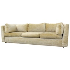 Mid-Century Modern Milo Baughman Style Stratford 3-Seat Sofa
